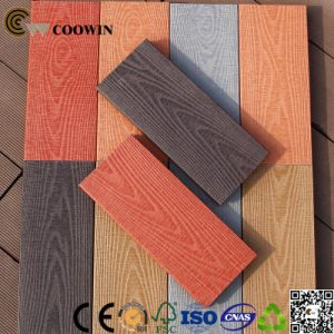 Tw-K03 150X25mm 3D Embossing Wood Feel WPC Decking pictures & photos