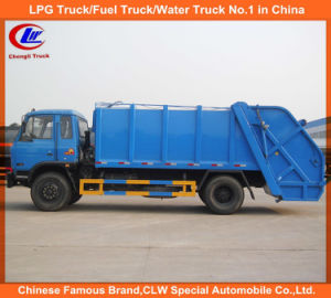 Heavy Duty 4X2 10cbm 12cbm Garbage Compactor Truck Dongfeng Compressed Garbage Truck pictures & photos