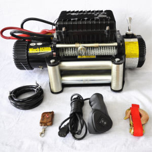 12V/24V 4X4 Power Tools 9500lb Heavy Duty Electric Winches for Recovery