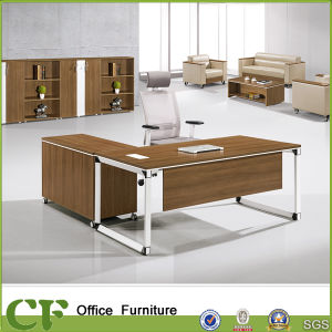 Steel Frame with MFC Material Table for Office pictures & photos