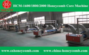 Hcm-2000 Honeycomb Core Making Machine pictures & photos