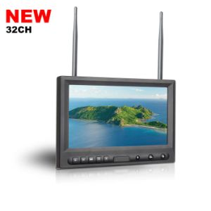 "8"" Fpv Monitor Built-in Dual 32CH Receiver pictures & photos"