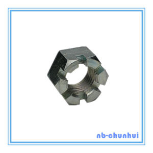 Hex Nut Hexagon Slotted Nut-1-7/8~2-1/4