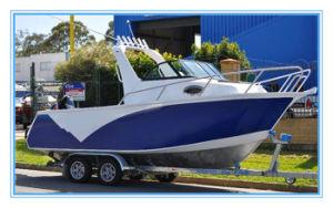 19FT Aluminum V Hull Fishing Boat Cuddy Cabin with Targa