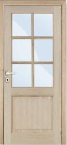 Interior Doors Home Design MDF Solid Wood Door with Glass pictures & photos
