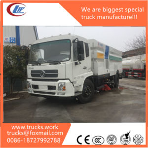 China Factory Dongfeng 4*2 Road Cleaning Sweeper Truck for Sale pictures & photos