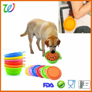 Hot Sale Travel Silicone Dog Food Bowl pictures & photos