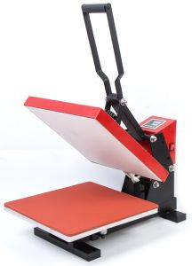 Flat Clamshell Sublimation Transfer Heat Press for T-Shirt Printing pictures & photos
