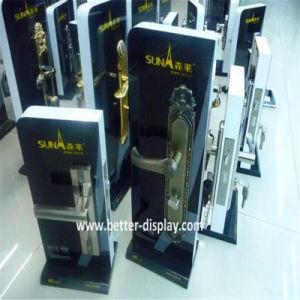 Countertop Acrylic Door Lock Display Stand for Hotel Lock Btr-C8017 pictures & photos