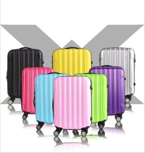 Good Quality ABS Hard Shell Travel Bag Trolley Luggage Suitcase pictures & photos