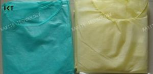 Disposable Non Woven Isolation Gown pictures & photos
