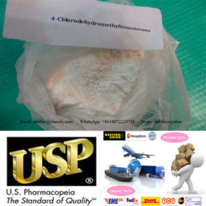 Bodybuilding Steroids 4-Chlorodehydromethyltestosterone Oral Turinabol CAS 2446-23-3 pictures & photos