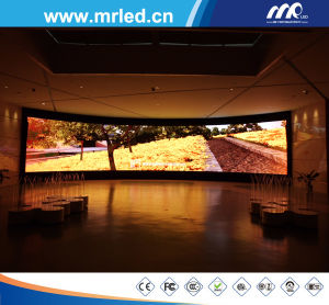 Advertising Board P3.84mm Indoor LED Cabinet Display Screen for Sale pictures & photos