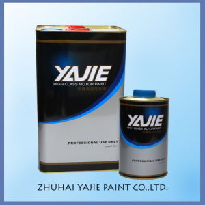 Yj High Gloss Excellent Adhesion Weather Resistant Varnish 4: 1 pictures & photos