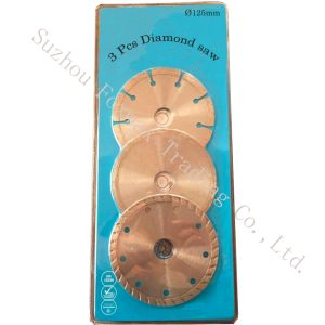 3 PCS 125mm Diamond Cutting Disc Set pictures & photos