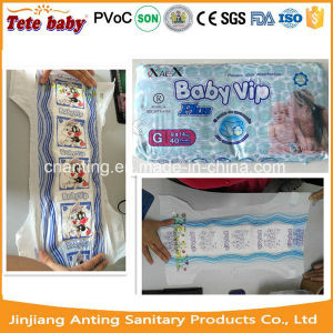 Soft Breathable Absorption and Diapers/Nappies Type Baby Diapers in Bales pictures & photos