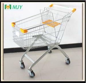 100 Liters Supermarket Shopping Cart Mjy-100b-E pictures & photos