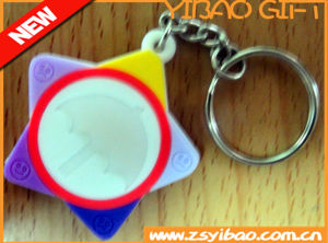 Soft PVC Keychain for Promotion or Souvenir (YB-LY-PK-02) pictures & photos