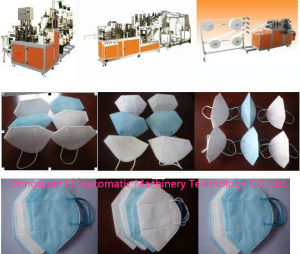 Disposable Non- Woven Dust Face Mask Making Machine pictures & photos