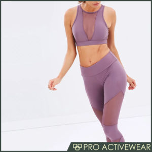 Hot Sale Fitness Wear Customized Women Printed Pattern Sports Bra pictures & photos