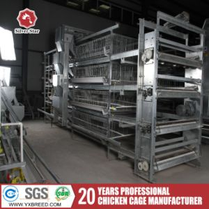 Poultry Feed Equipment Chicken Farm Battery Broiler Cage pictures & photos
