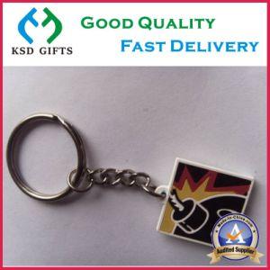Plastic Glow in Dark PVC Key Ring pictures & photos