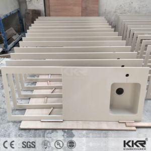 Manufacturer Acrylic Solid Surface Cutting Kitchen Countertop pictures & photos