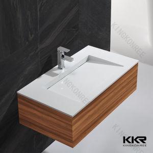 Sanitary Ware Bathroom Cabinet Corian Wash Basin pictures & photos