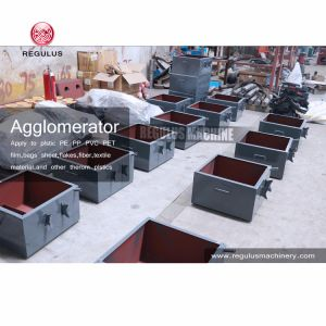 China Plastic PP PE Film Recycle Agglomerator Machine pictures & photos