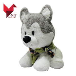 2017 OEM Design Dog Husky Plush Toys Promotion Gifts pictures & photos