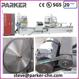 Aluminum Double Head Cutting Machine pictures & photos