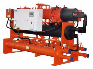 280rt Industrial Water Cooled Screw Chiller for Pharmaceutical Processing pictures & photos