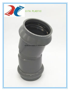 PVC Elbow 45 Degree (F/F) 63mm-315mm for Water Supply pictures & photos