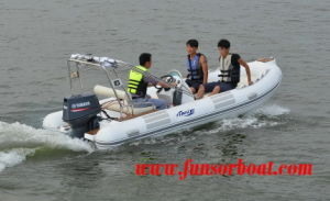 Funsor 15.7feet. Rib Rigid Inflatable Boat (RIB-480D) pictures & photos