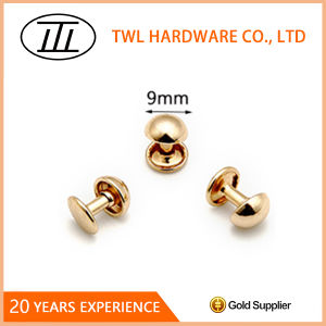 9mm Mushroom Rivet for Bags, Iron Rivet, Handbag Hardware Accessories pictures & photos