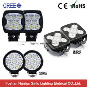 High Intensity Square 50W Truck CREE LED Car Work Lightgt1025-50W) pictures & photos