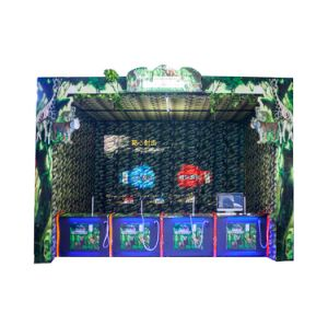 Indoor Shooting Game Machine Real Experience Hunting Games for 4 People pictures & photos
