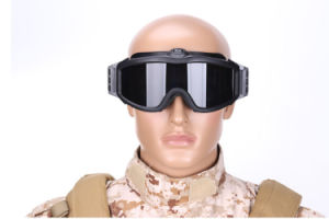 High Quality Ess Goggles Sunglasses Outdoor Sports Army Bullet-Proof Fan Anti-Fog Eyewear Military Goggles Wholesale pictures & photos
