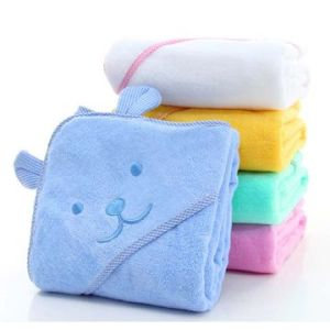Promotional Hotel / Home Hooded Cotton Baby Blanket / Quilt / Bath Towel Products pictures & photos