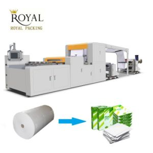 PLC High-Precision Paper Cutting Machine for A4 and A3 pictures & photos