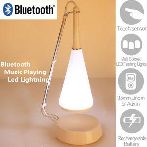 Fashion Design LED Touch Light Bluetooth Speaker
