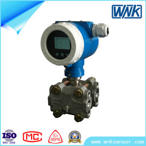High Temperatures Industrial Smart Differential Pressure Transmitter with Flange & Diaphragm pictures & photos