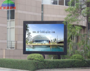 Outdoor Single Column P10 Full Color LED Signboard (Front Maintenance) pictures & photos
