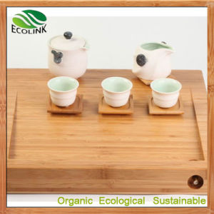 Bamboo Tea Tray Bamboo Gongfu Tea Table Serving Tray pictures & photos