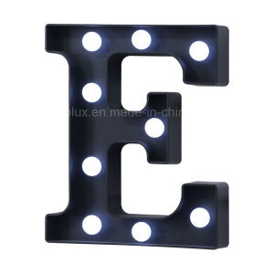 Walmart Plastic LED Decoration Craft Gift Letter LED Light pictures & photos
