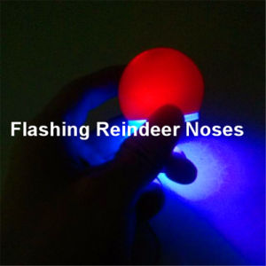 LED Light up Reindeer Nose pictures & photos