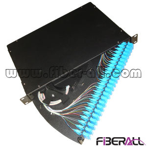 48 Fibers Rotate Style Fiber Optic Patch Panel Swing out pictures & photos