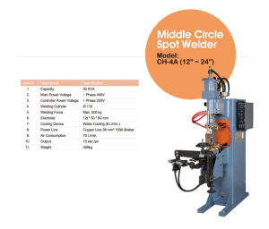 Middle Circle Spot Welder pictures & photos