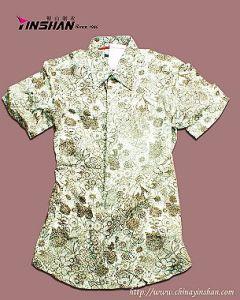 Men′s Short Sleeve Fashion Cotton Shirt (mx10-0206)
