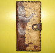 Handcrafted Yak-Leather Wallet (C-003)